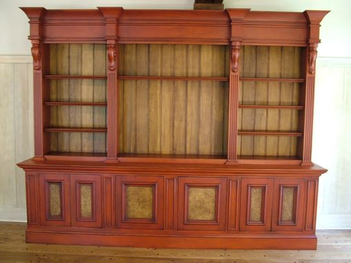 Custom Made Media & Display Cabinet