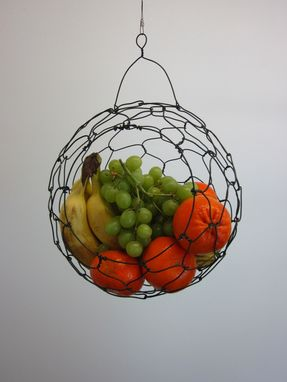 Custom Made Hanging Wire Fruit Basket