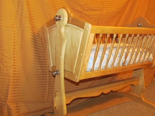 Custom Made Maple Baby Cradle