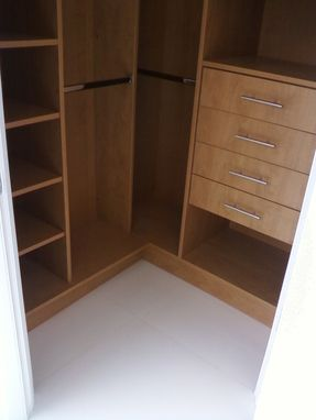 Custom Made Closet-Caramel