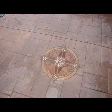 handmade bronze compass rose  schaal arts  custommadecom