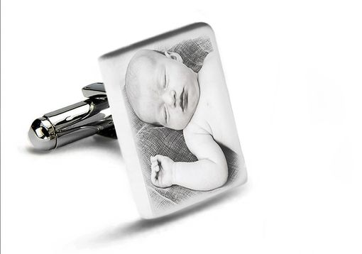 Custom Made Custom Tile Cufflinks