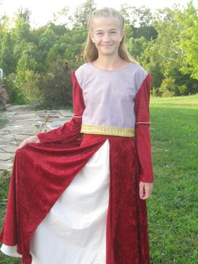 Custom Made Lucy Costume From Prince Caspian Narnia