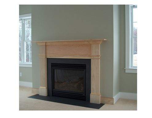 Custom Made Colonial Fireplace Surround