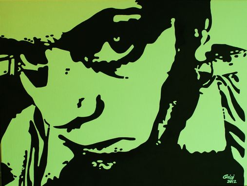 Custom Made Art - Brooding Self-Portraits 1 Thru 4