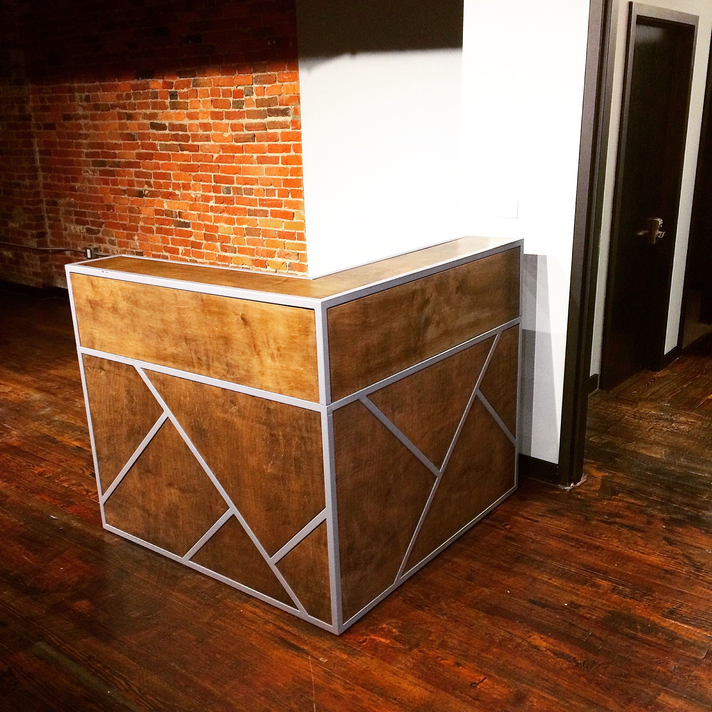 Custom Made Small Reception Desk Point Of Register