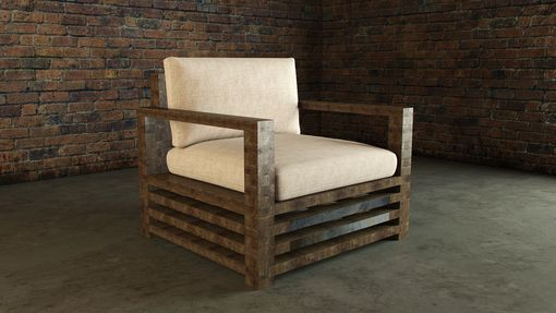 Custom Made Lincoln Chair And Love Seat