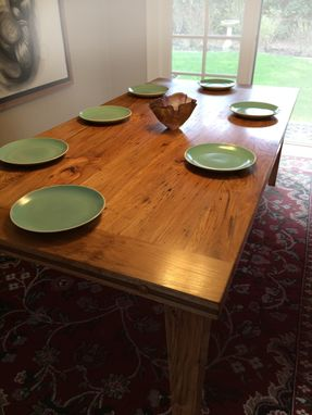 Custom Made Chinquapin Dining Table