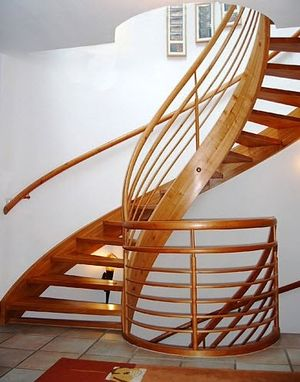 Custom Made Helical Stairs