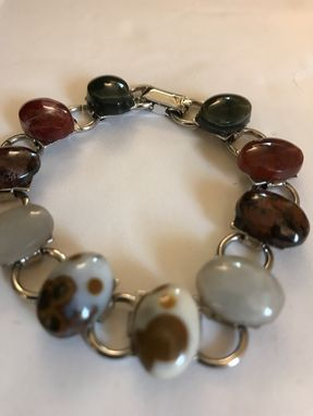 Custom Made Multi Colored Stone Bracelets