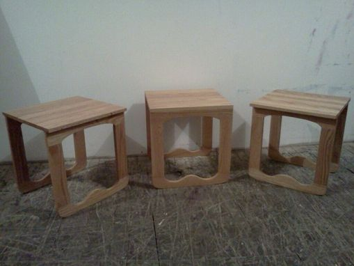 Custom Made Chapman Nesting Tables