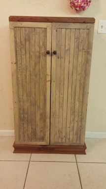 Custom Made Wooden Storage Cabinet Pantry