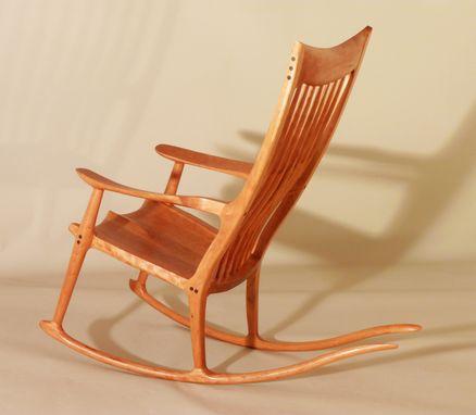 Sam Maloof Style Rocking Chairs