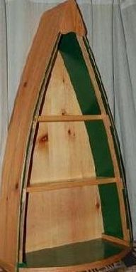 Custom Made Adirondack Canoe Shelf