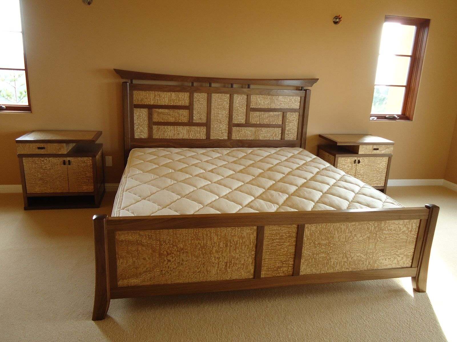 Hand Crafted Japanese Bed By Stark Custom Furniture