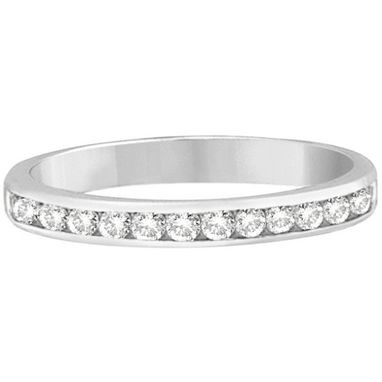 Custom Made Channel-Set Diamond Ring Band