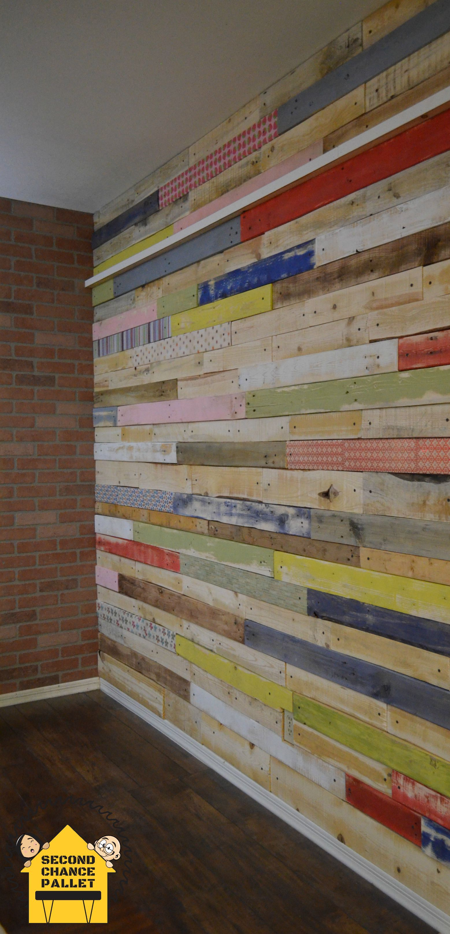 Custom Made Pallet Wall Skin Paneling Wood For Walls