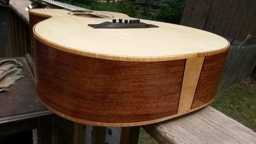 Custom Made Custom Deep Body 00 Martin-Style Guitar / Full Scale / Adi Top