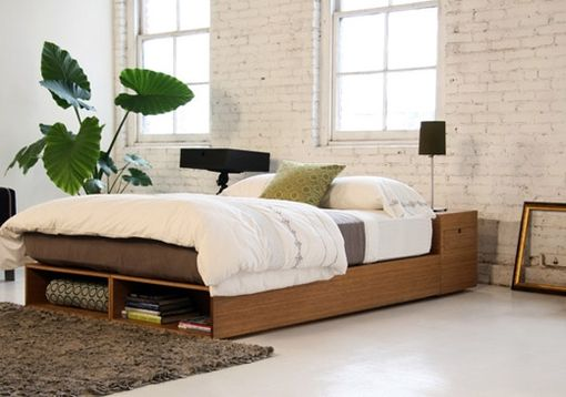 Custom Made Buden Paltform Storage Bed