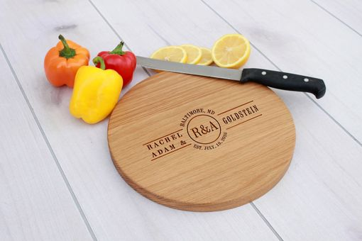Custom Made Personalized Cutting Board, Engraved Cutting Board, Custom Wedding Gift – Cbr-Wo-Goldstein