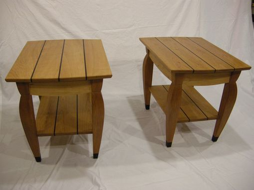 Custom Made Cherry Side Tables