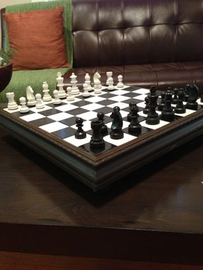Custom Made Lake Side Chess Set