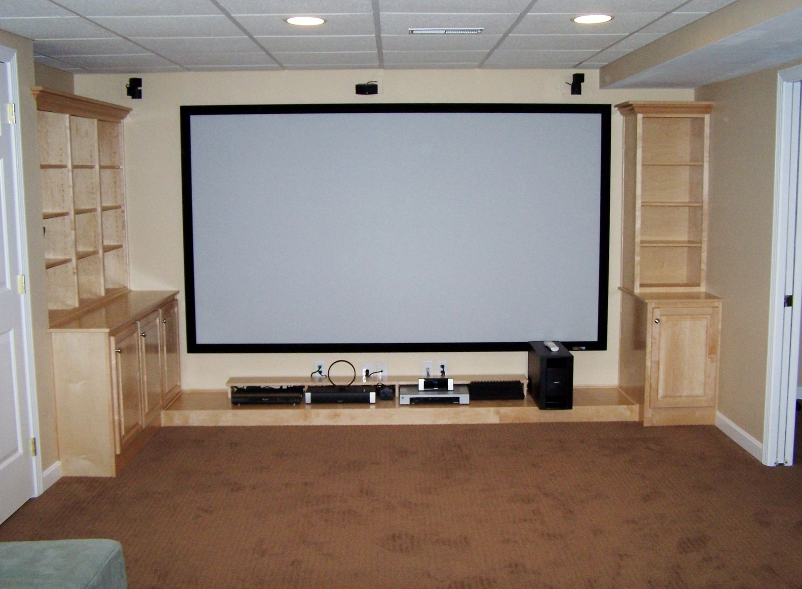 home theater cabinet crafted home theatre cabinets by northwind 16554