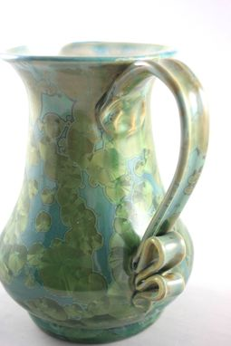 Custom Made Crystalline Glazed Pitchers