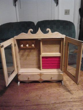 Custom Made Jewelry Box - Reclaimed Or New Materials.