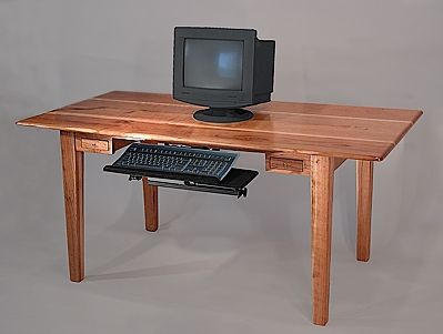 Custom Made Cherry Computer Table