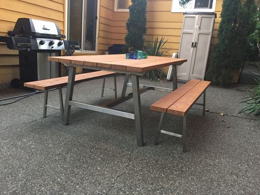 Custom Made Custom Outdoor Table