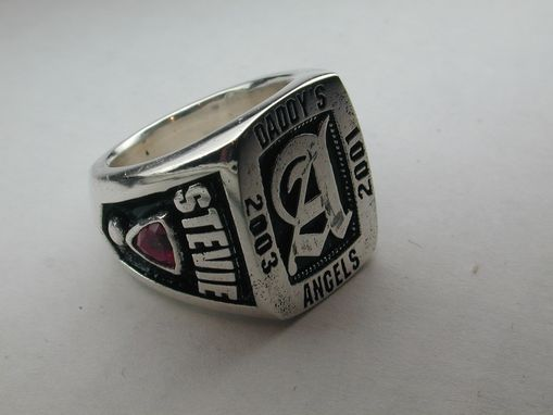 Custom Made Military/Public Servant Rings