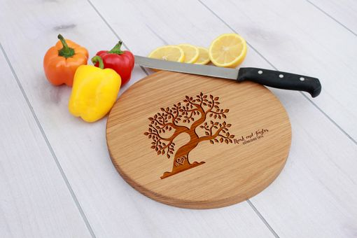 Custom Made Personalized Cutting Board, Engraved Cutting Board, Custom Wedding Gift – Cbr-Wo-Marktaylor