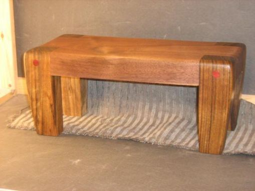 Custom Made Custom Foot Stool