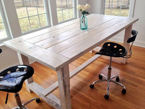 Custom Made Dining Room Table - Free Shipping To Lower 48 States