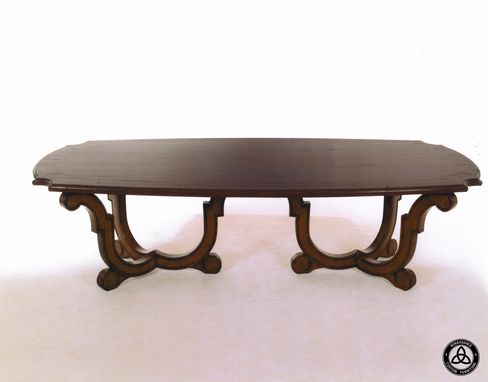 Custom Made #414 Bowed Dining Table
