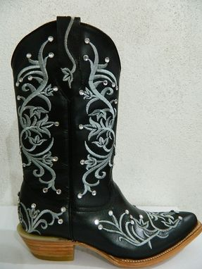 Custom Made Woman Boots Hand Made With Genuine First Quality Leather