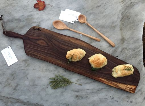 Custom Made Live Edge Charcuterie, Cheese, Bread Serving / Cutting Board / Tray