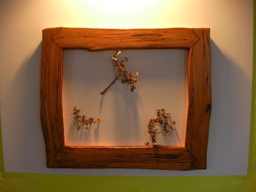 Custom Made Arrow Joint Spalted Birch Frame
