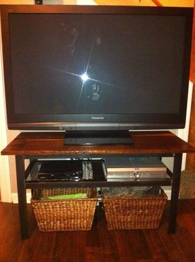 Custom Made Rustic Tv Table/ Entertainment Center