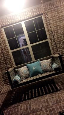 Custom Made Porch Swing