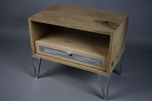 Custom Made Industrial Modern Side Table