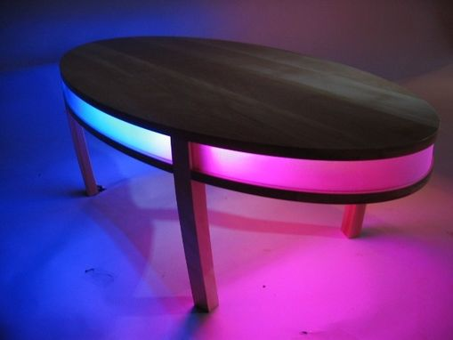 Custom Made Lighted Coffee Table