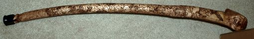 Custom Made Life History Cane