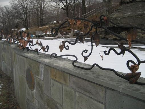 Custom Made Wrought Iron Railing