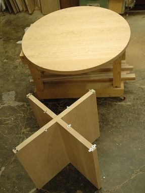 "Custom Made 46"" Round Table"
