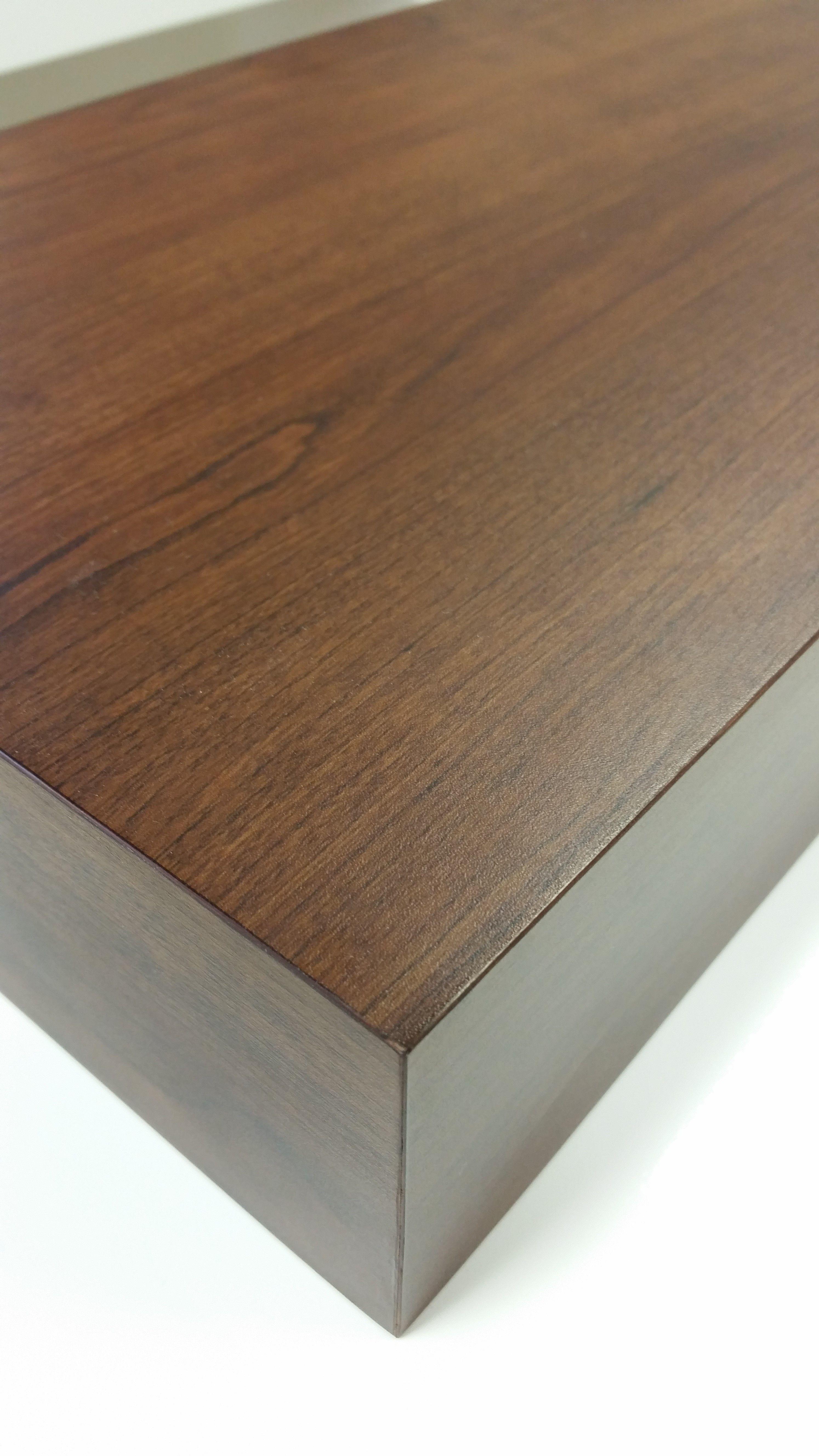 Buy A Custom Made Floating Wall Shelf Shelves 72 Inch Walnut Color