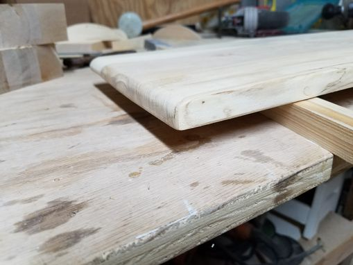 Custom Made Live Edge Maple Cutting Board