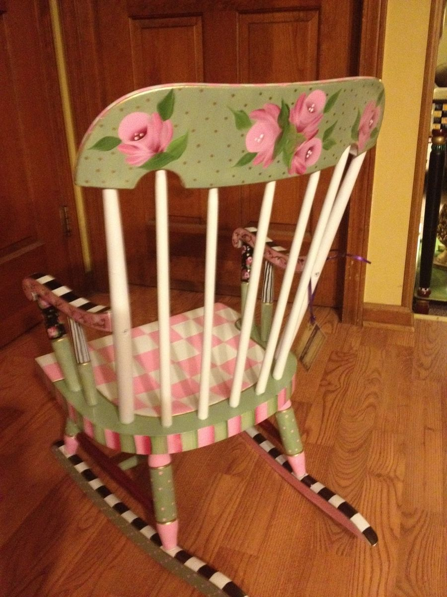Ideas for hand painted chairs -  Buy Hand Made Painted Childs Rocking Chair Custom Colors And Hand Painted Childrens Rocking Chairs