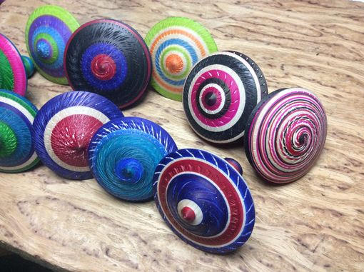 Custom Made Spinning Tops